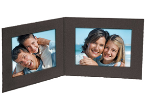 Double View Folders 5x4 Horizontal (25 Pack)