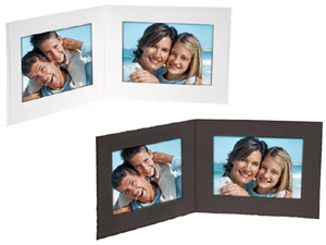 double view folders 7x5 horizontal 25 pack