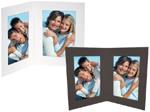 Double View Folders 4x6 Vertical 25 Pack