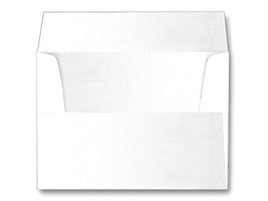 Square White Envelopes 5-1/2x5-1/2  (25 Pack)