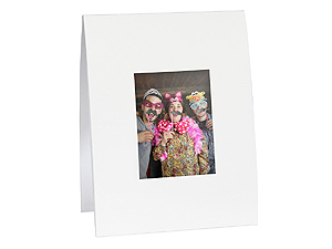 Instax Solid White Mini Easel Frames (25 Pack)