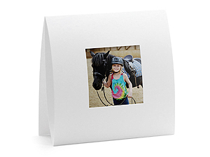 Instax Solid White Square Easel Frames (25 Pack)