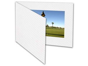 Golf Ball Texture Event Photo Folders For 6x4 (25 Pack)