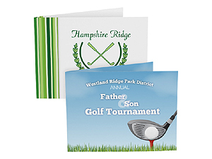 Custom Golf Photo Folders For Horizontal 4x6 (Sold in Singles)