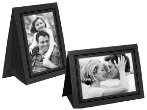 Grandeur Easel Frames with Foil Border (25 Pack)
