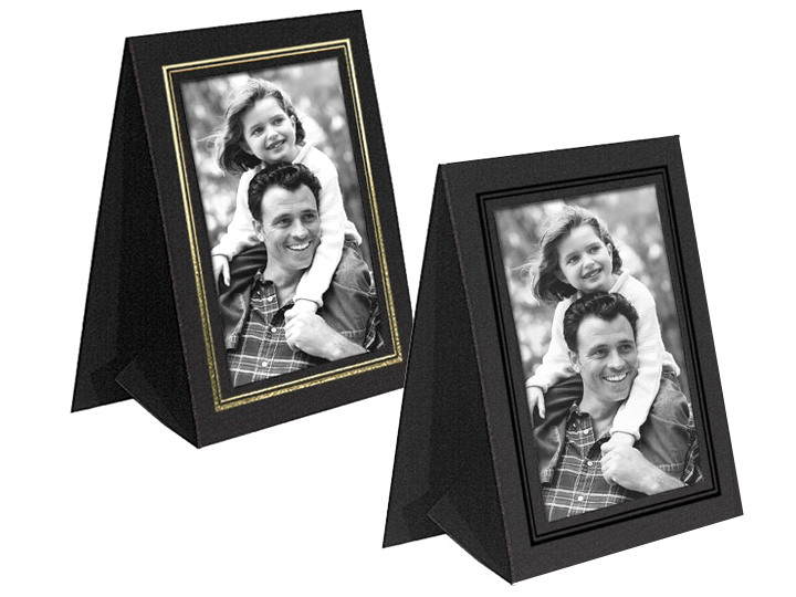 Grandeur Easel Frames 4x6 Vertical w/Foil Border (25 Pack)