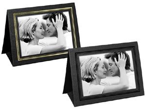 Grandeur Easel Frames 6x4 Horizontal w/Foil Border (25 Pack)