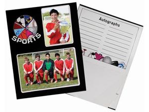 Sports Memory Cardboard Photo Frames 100