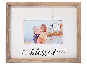 Lawrence 4x6 Farmhouse Wood Frame - Blessed