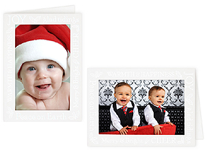Glad tidings 4x6 photo insert greeting cards 10 pack m4hsunfo