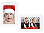 Glad Tidings 4x6 Photo Insert Greeting Cards (10 Pack)