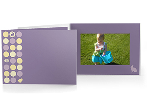 Easter Dots 4x6 Horizontal Photo Folders (25 Pack)