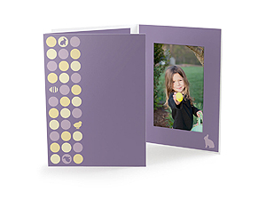 Easter Dots 4x6 Vertical Photo Folders (25 Pack)
