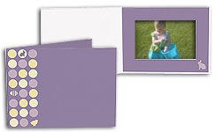 Easter Dots 5x7 Horizontal Photo Folders (25 Pack)