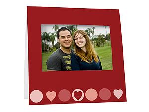 Heart Dots Instax Easel Frames (25 Pack)