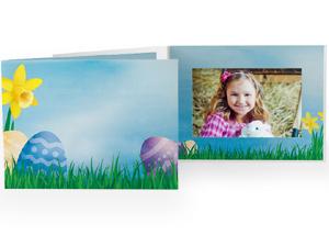 Easter Garden 4x6 Horizontal Photo Folders (25 Pack)