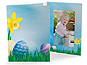 Easter Garden 5x7 Vertical Photo Folders (25 Pack)