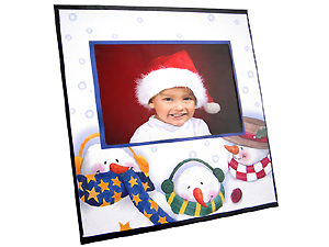 Snowman Instax Sturdy Cardboard Easel Frames (25 Pack)