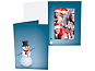 Joyful Snowman Printed 4x6 Vertical Photo Folders (25 Pack)