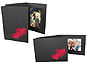 Two Hearts 4x6 Event Photo Folders (25 Pack)