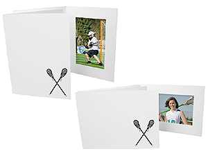 Lacrosse 4x6 Sports Event Photo Folders (25 Pack)