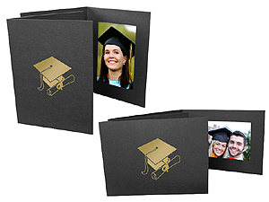 Graduation Event Photo Folders For 4x6 (25 Pack)