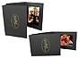 Gold Rose Event Photo Folders For 4x6 (25 Pack)