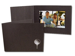 Golf Ball and Tee Event Photo Folders For 4x6 (25 Pack)