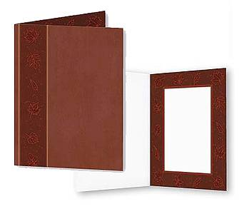 Fall Leaves Photo Folders For 4x6 (25 Pack)