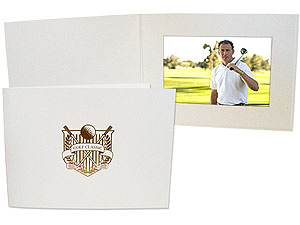 Golf Emblem Event Photo Folders For 4x6 (25 Pack)