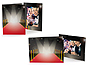 Red Carpet 5x7 Event Photo Folders (25 Pack)