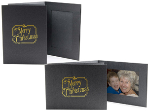 Merry Christmas Event Photo Folders For 4x6 (25 Pack)