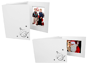 Snowman Holiday Photo Folders For 4x6 (25 Pack)
