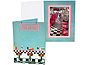 50s Diner Theme 4x6 Vertical Event Photo Folders (25 Pack)