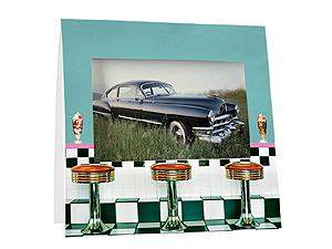 50s Diner Instax Paper Easel Frames (25 Pack)