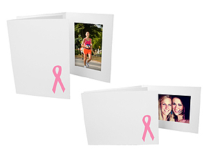 Awareness Ribbon 4x6 Event Photo Folders (25 Pack)