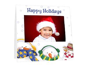 Snowman Instax Paper Easel Frames (25 Pack)