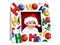 HoHoHo Christmas Polaroid Easel Frames (25 Pack)