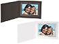 Cardboard Photo Folders w/Foil Border 7x5 Horiz (25 Pack)