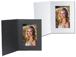 Cardboard Photo Folders 4x6 Vertical 25 Pack