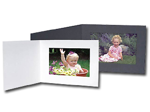 Cardboard Photo Folders 7x5 Horizontal (25 Pack)