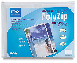 Itoya Art Profolio PolyZip Envelope For 4x6 (12 Pack)