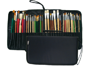 PRAT Start Expandable Brush Case for Short Brushes