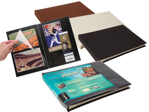Itoya 1-Up Repositionable Presentation Album for 4x6