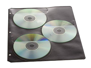 Itoya DS-4 Digital Disc Storage Sheets (4 Pack)
