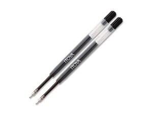 Itoya Gel Pen Refill Black (2 Pack)