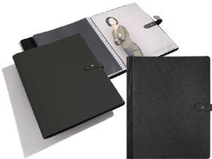 PRAT Pampa 11x17 Leather Spiral Presentation Book