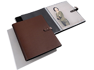 PRAT Pampa 9.5x12.5 Leather Spiral Presentation Book
