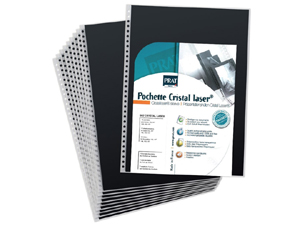 PRAT 502 Refill Pages For 9.5x12.5 Spiral Books (10 Pack)