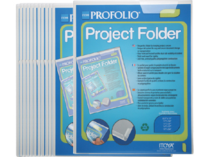 Itoya Art Project Folders 14x17 (Pack of 12)